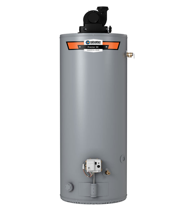 State 50 Gallon Residential Gas Water Heater w/ 40,000 BTUs, 80 First Hour Rating Gallon