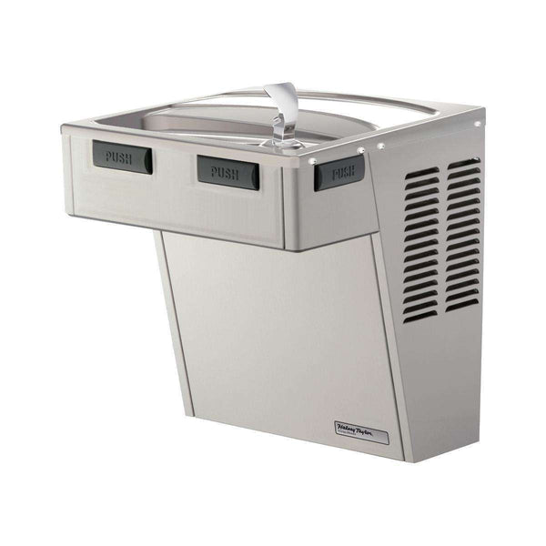Halsey Taylor HACDPV-WF Wall Mount ADA Coolers Filtered Non-Refrigerated Platinum Vinyl