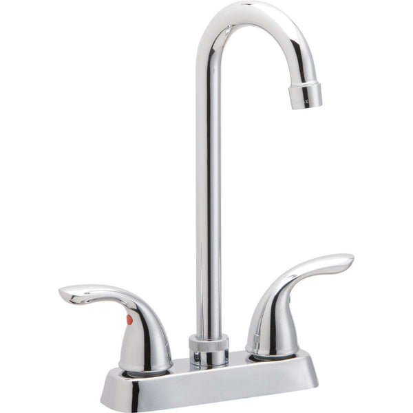 Elkay LK2477CR Everyday Bar Deck Mount Faucets and Lever Handles Chrome