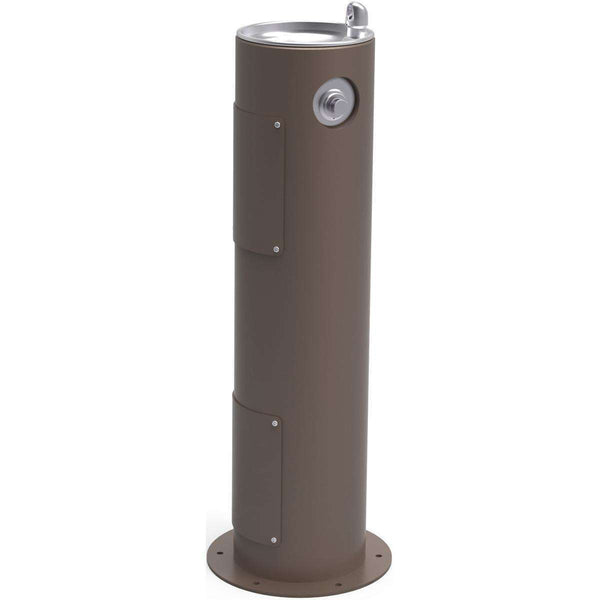 Halsey Taylor 4400FRKBRN Outdoor Fountain Pedestal Non-Filtered Non-Refrigerated FR Brown
