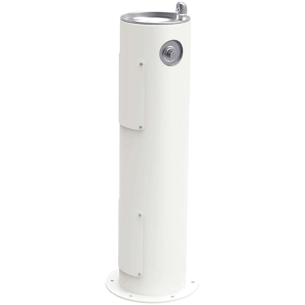Elkay LK4400FRKWHT Outdoor Ftn Pedestal Non-Filtered Non-Refrigerated Freeze Resistant White