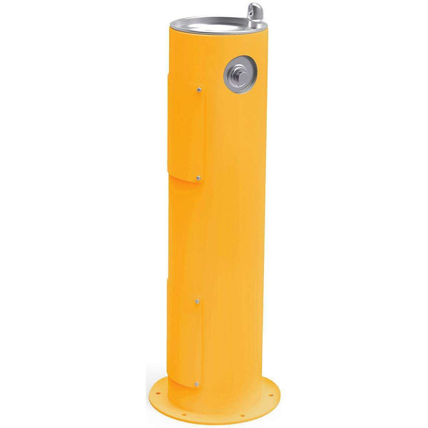 Halsey Taylor 4400FRKYLW Outdoor Fountain Pedestal Non-Filtered Non-Refrigerated FR Yellow