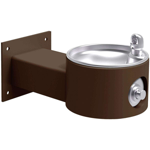 Halsey Taylor 4405FRKBRN Outdoor Fountain Wall Mount Non-Filtered Non-Refrigerated FR Brown