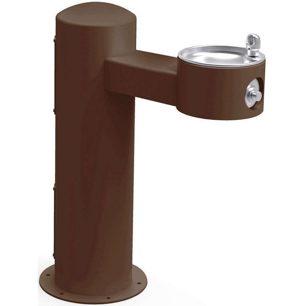 Halsey Taylor 4410FRKBRN Outdoor Fountain Pedestal Non-Filtered Non-Refrigerated FR Brown