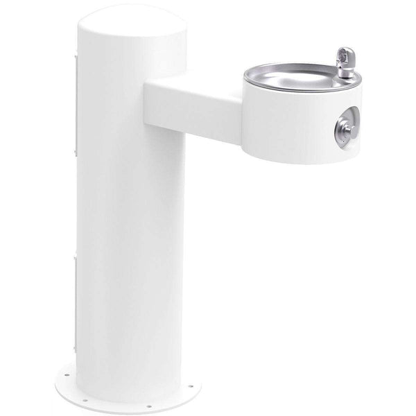 Elkay LK4410FRKWHT Outdoor Ftn Pedestal Non-Filtered Non-Refrigerated Freeze Resistant White