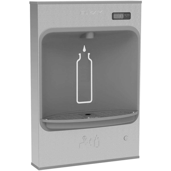 Elkay LMASMB Mechanical Bottle Filling Station Surface Mnt Battery Powered Filtered SS