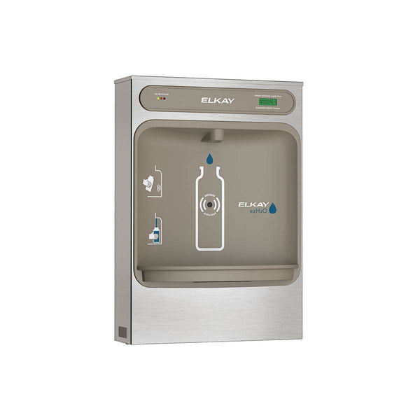 Elkay LZWSSM EZH2O Bottle Filling Station Surface Mount Filtered Non-Refrigerated SS
