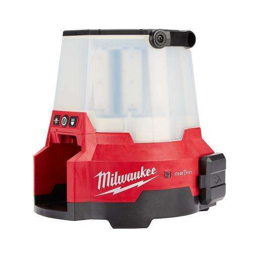 Milwaukee 2147-20 M18 RADIUS Site Light with ONE-Key and Twistlock