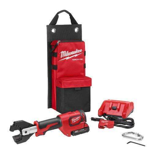 Milwaukee 2672-21SKIT M18 Force Logic Cable Cutter Kit, 477 ACSR & 750MCM CU Jaws