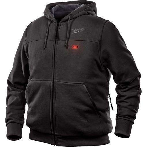 Milwaukee 302B-20L M12 Heated Hoodie Only Large, Black
