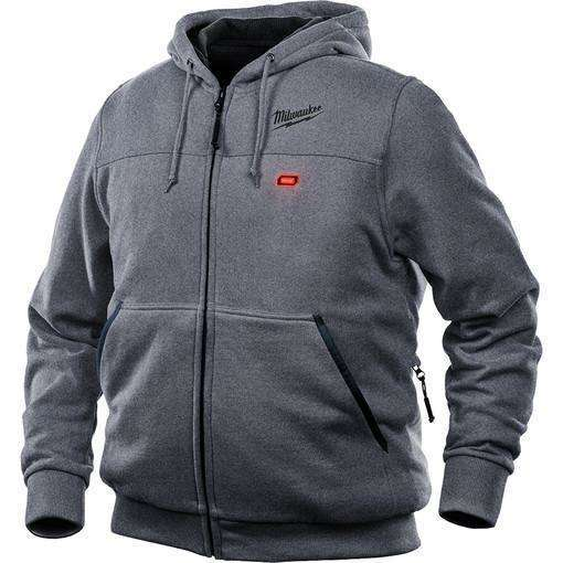 Milwaukee 302G-20L M12 Heated Hoodie Only Large, Gray