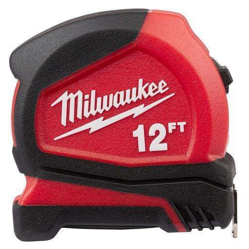 Milwaukee 48-22-6612 12' Compact Tape Measure