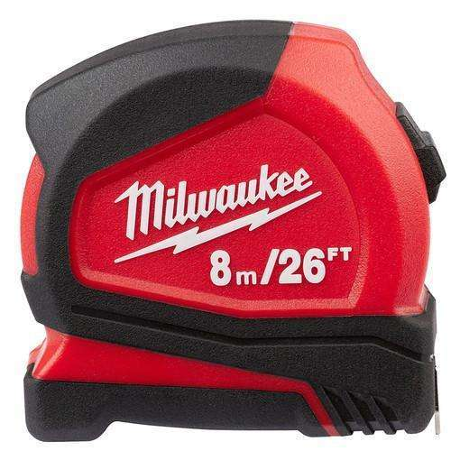 Milwaukee 48-22-6626 8m / 26' Compact Tape Measure