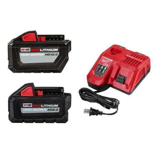 Milwaukee 48-59-1200P M18 18-Volt Lithium-Ion High Output Hd12.0 Starter Kit