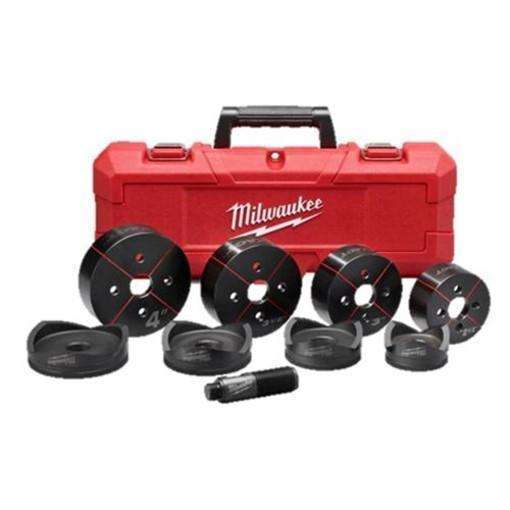 "Milwaukee 49-16-2695 Milwaukee EXACT 2-1/2"" to 4"" Knockout Set"