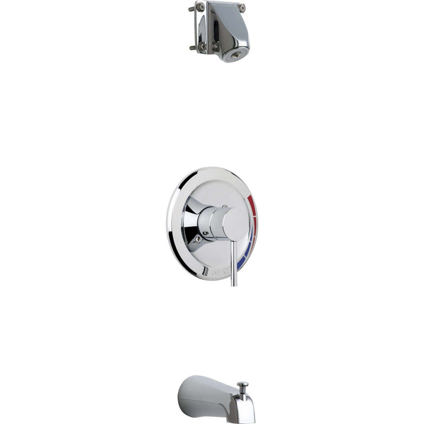 Chicago Faucets Sh-Tk1-04-100 Tub And Shower Trim Kit