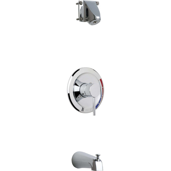 Chicago Faucets Sh-Tk1-05-100 Tub And Shower Trim Kit