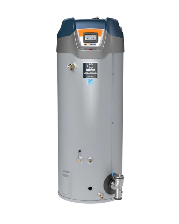 Modulating Ultra Force, 100 Gallon, Gas  | State Water Heaters