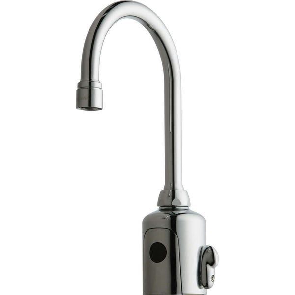 Chicago Faucets 116.123.Ab.1 Hytr83 Ab Ir Gooseneck Ac Ext Mix