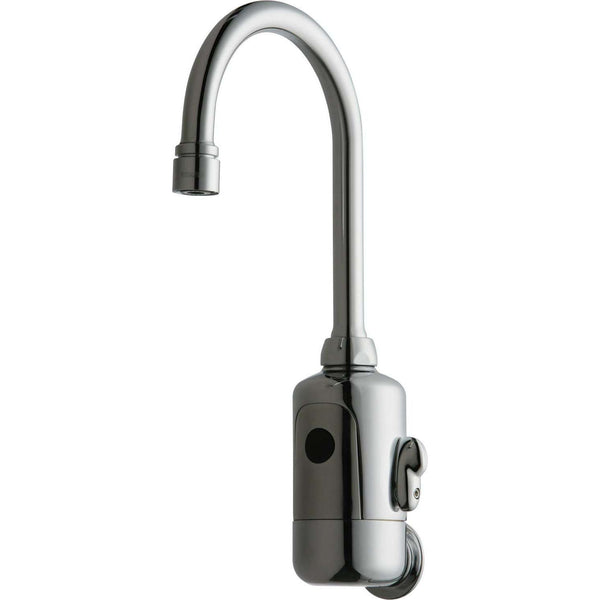 Chicago Faucets 116.124.Ab.1 Hytr84 Ab Ir Wallmount Ac Ext Mix