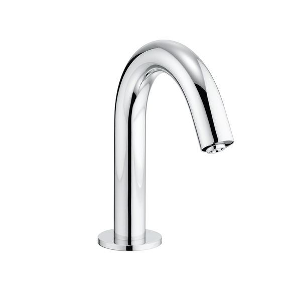 Helix ECOPOWER 0.35 GPM Electronic Touchless Sensor Bathroom Faucet with Thermostatic Mixing Valve, Polished Chrome - TEL113-D20ET#CP