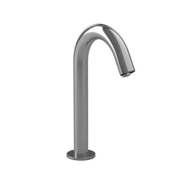 Helix M ECOPOWER 0.35 GPM Electronic Touchless Sensor Bathroom Faucet with Thermostatic Mixing Valve, Polished Chrome - TEL123-D20ET#CP