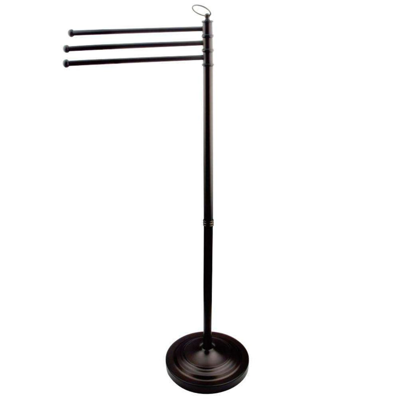 Kingston Brass CC2025 Vintage Pedestal Towel Bar, Oil Rubbed Bronze