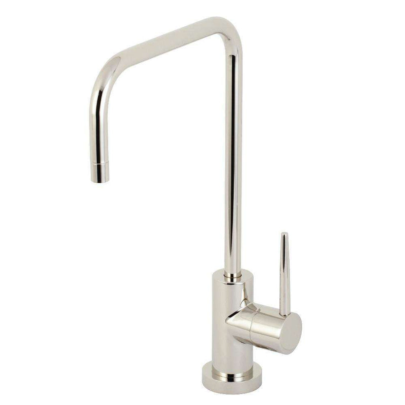 Kingston Brass KS6196NYL New York Single-Handle Cold Water Filtration Faucet, Polished Nickel