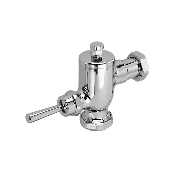 TOTO Toilet 1.28 GPF Manual Commercial Flush Valve Only, Polished Chrome - TMT1LN#CP