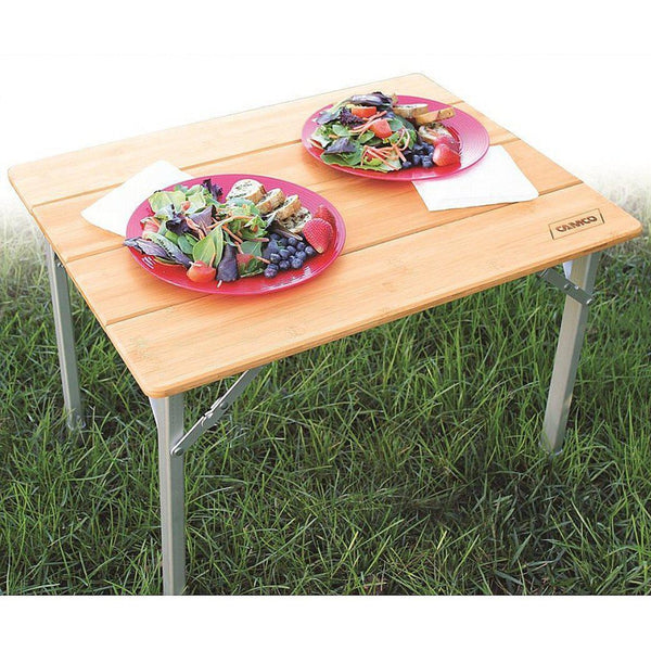 Table pliante en Bambou-CampingMart (5901964607656)