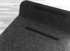 Soft Charcoal Felt Sleeve