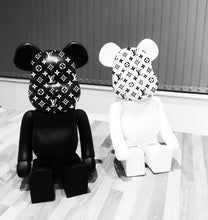 Load image into Gallery viewer, Louis Vuitton Style Bearbrick Toy