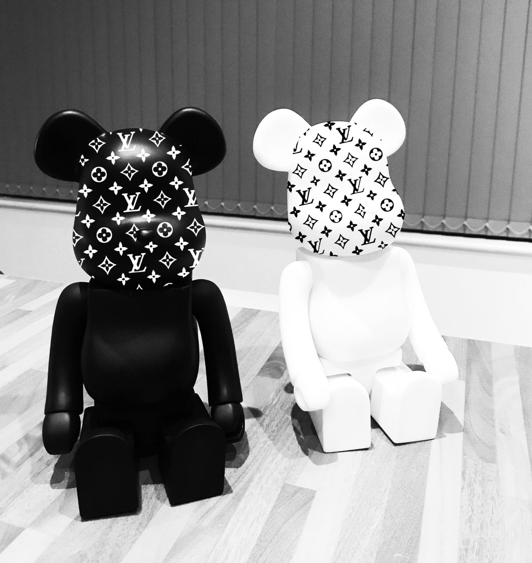 Louis Vuitton Style Bearbrick Toy