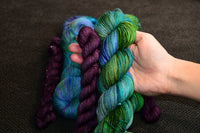 Merpeople Sock Set with 20g Mini Skein