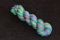 OOAK (very similar to Chain of Hearts) 100g self striping sock yarn
