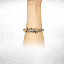 Load image into Gallery viewer, Cube Charms Metal Bracelet