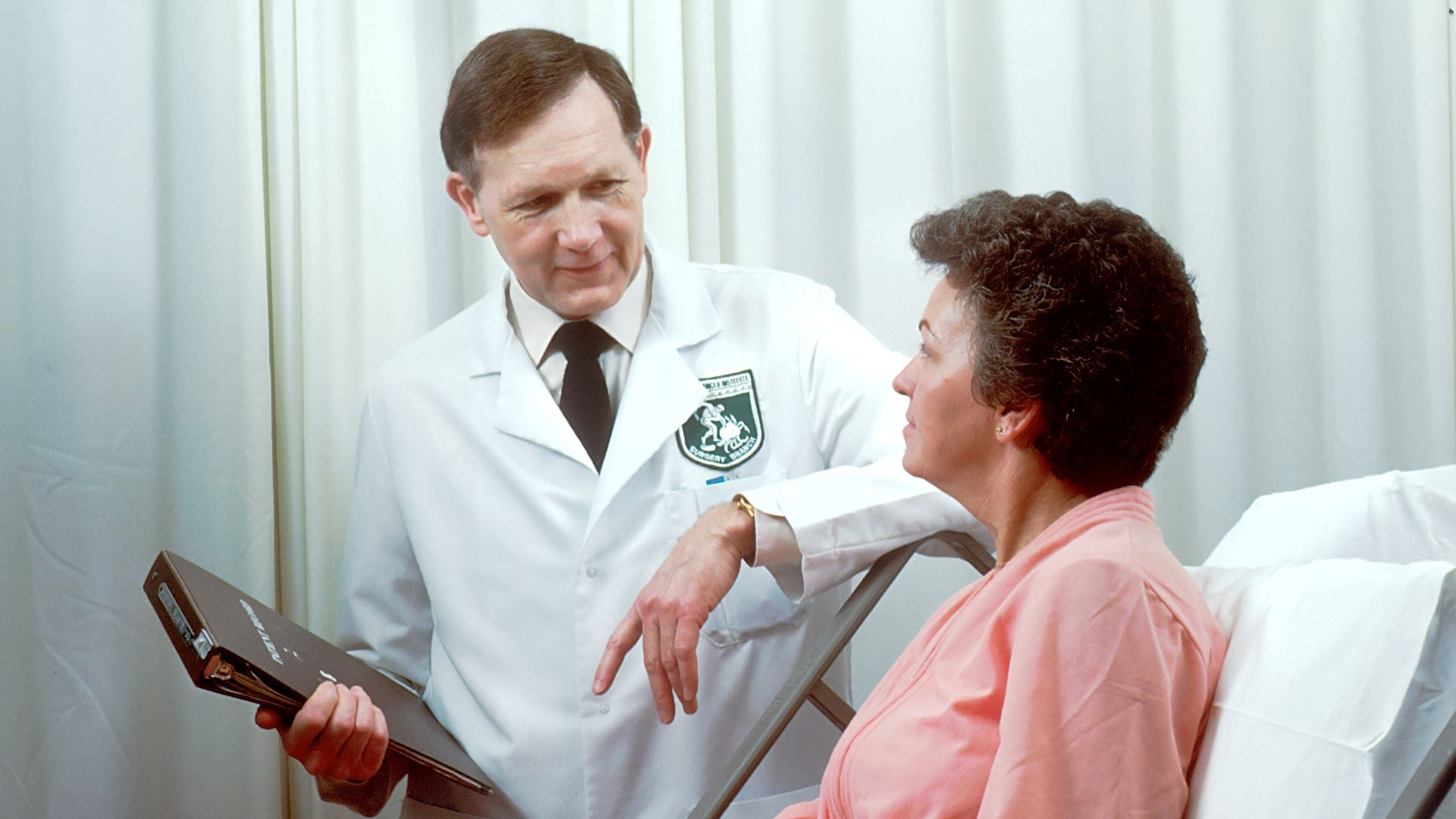 a doctor consulting on receding hairline