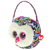TY Sequin Purse - Owen (Owl)
