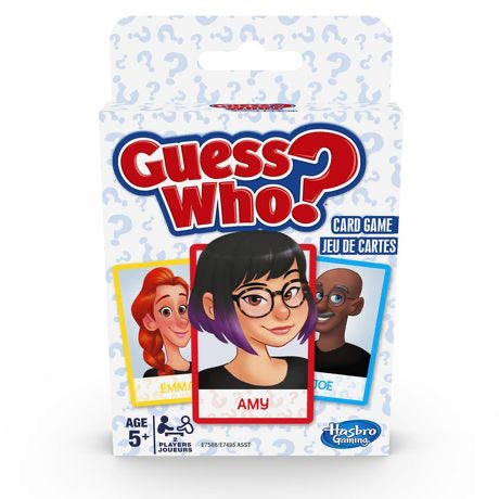 Guess Who Card Game