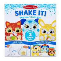 Shake It! Beginner Craft Kit - Deluxe Pets