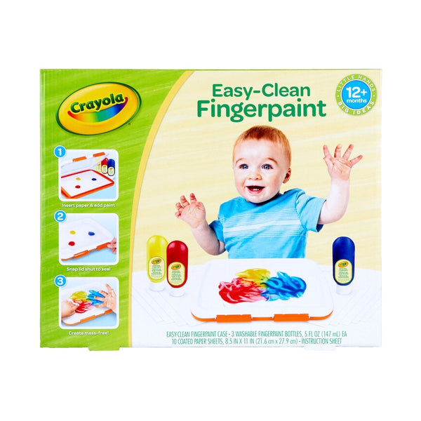 Crayola Easy Clean Finger-paint