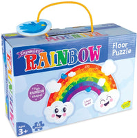 Shimmery Rainbow Floor Puzzle