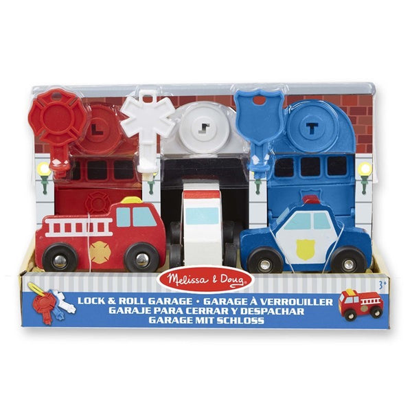 Melissa and Doug - Keys and Car Rescue Garage