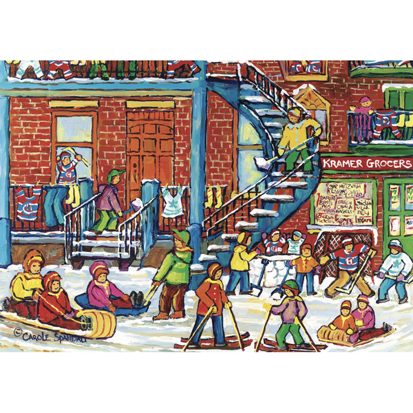 Winter Fun Carole Spandau 1000 Puzzle