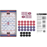 NHL Canadiens Checkers Set
