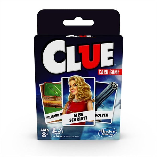 Clue Card Game