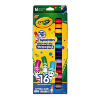 Pip-Squeaks Washable Markers - 16 ct