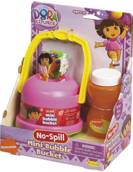 Dora the Explorer No Spill Mini Bubble Bucket