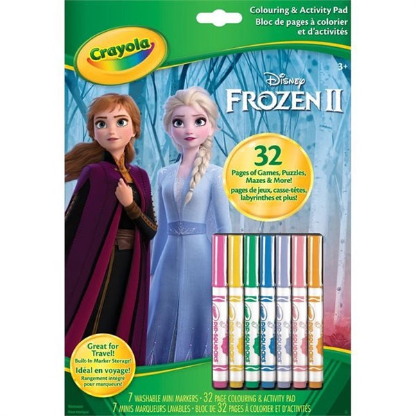 Frozen 2 Coloring  and Activity Book