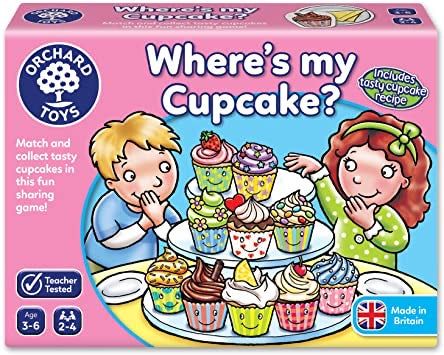 Where's My Cupcake? Matching Game